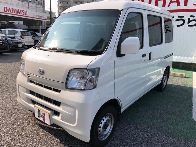 沖縄県浦添市の中古車ならハイゼットカーゴ DX AC AT 両側スライドドア オーディオ付 ETC 4名乗り