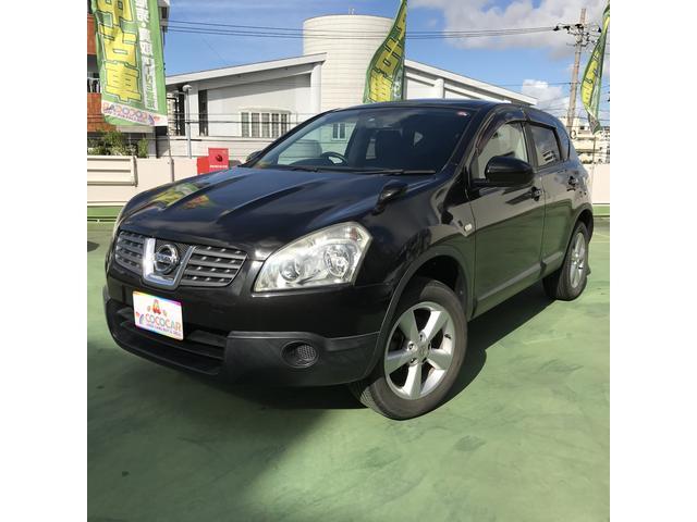 沖縄の中古車 日産 デュアリス 車両価格 49.8万円 リ済別 2008(平成20)年 10.0万km ブラック
