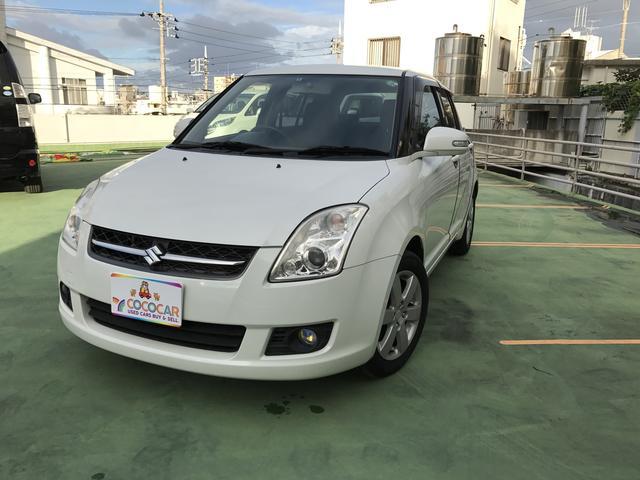 沖縄の中古車 スズキ スイフト 車両価格 48.8万円 リ済別 2008(平成20)年 10.5万km パール