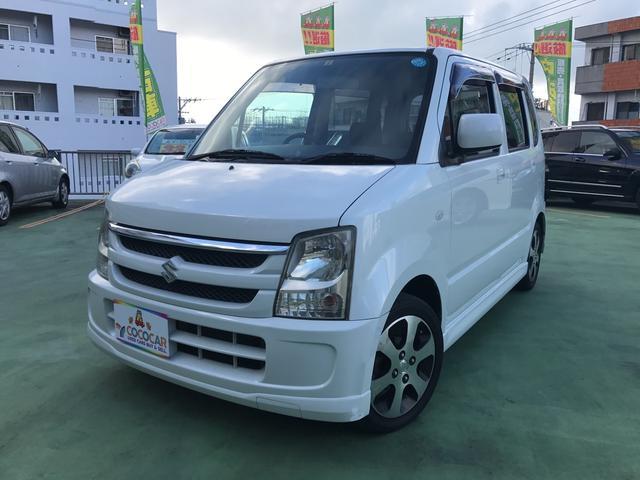 沖縄県の中古車ならワゴンR FX-Sリミテッド 純正14インチアルミ CD スマートキー