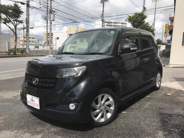 沖縄の中古車 トヨタ bB 車両価格 59.8万円 リ済別 2009(平成21)年 6.5万km ブラック