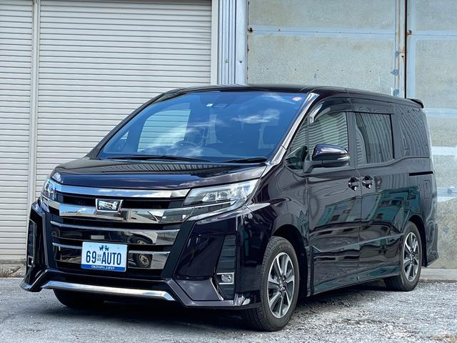 沖縄の中古車 トヨタ ノア 車両価格 209万円 リ済別 2018(平成30)年 1.6万km ダークパープル