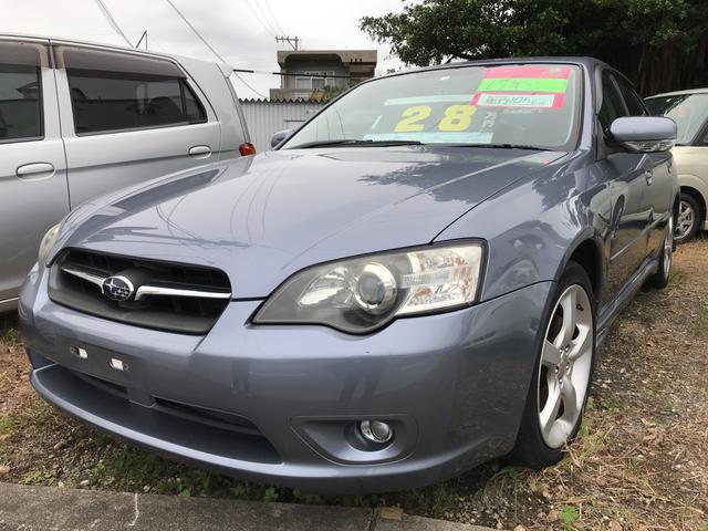沖縄の中古車 スバル レガシィB4 車両価格 25万円 リ済込 平成17年 10.8万km グレー