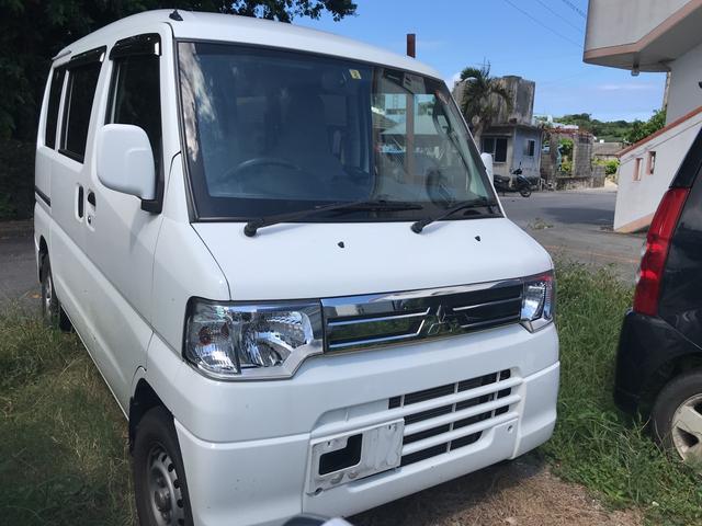 沖縄の中古車 三菱 ミニキャブバン 車両価格 38万円 リ済込 2012(平成24)年 6.1万km ホワイト
