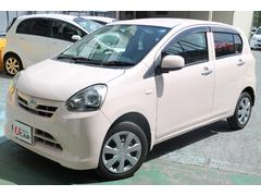 沖縄の中古車 ダイハツ ミライース 車両価格 44.8万円 リ済別 平成24年 6.8万K ピンク