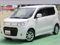 沖縄の中古車 スズキ ワゴンRスティングレー 車両価格 89.8万円 リ済別 平成25年 5.9万K パールホワイト