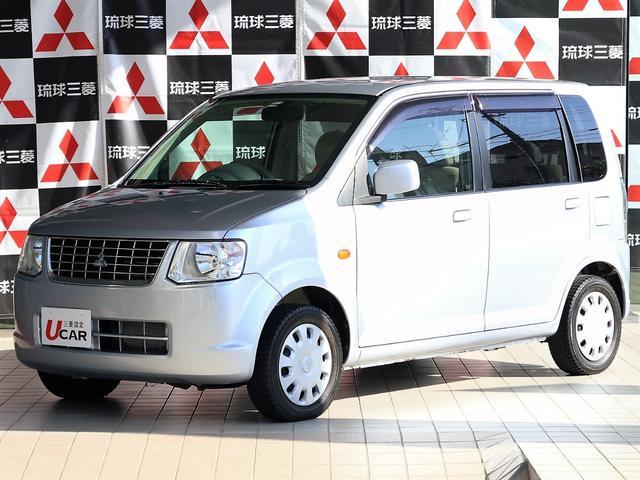 沖縄の中古車 三菱 eKワゴン 車両価格 39.8万円 リ済別 平成21年 3.0万km シルバー