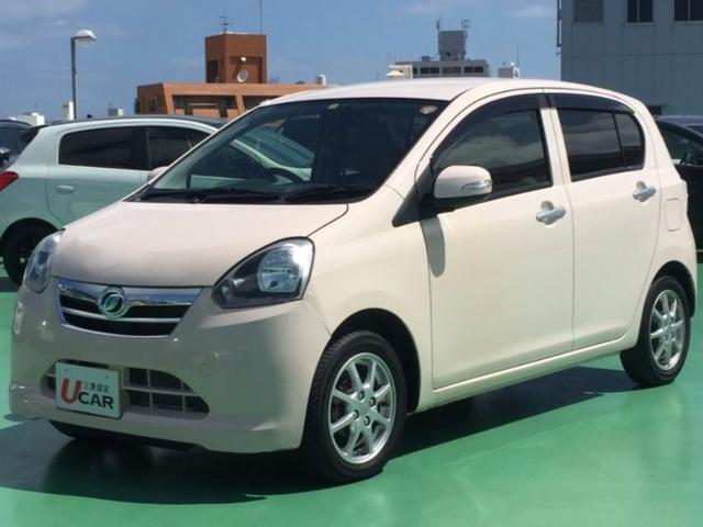沖縄の中古車 ダイハツ ミライース 車両価格 44.8万円 リ済別 2012(平成24)年 2.5万km ピンク