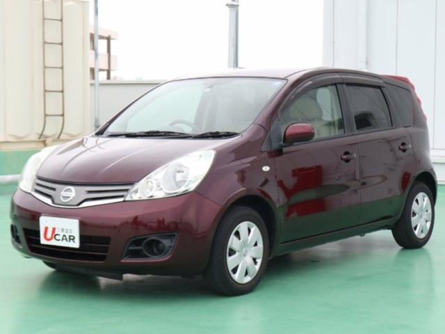 沖縄の中古車 日産 ノート 車両価格 39.8万円 リ済別 平成22年 4.6万km ブラウンM