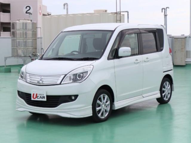 沖縄の中古車 三菱 デリカD:2 車両価格 95.8万円 リ済別 平成25年 3.5万km パールホワイト