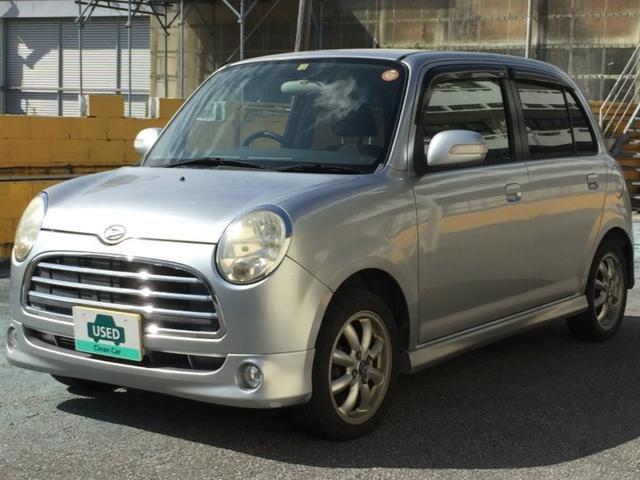 沖縄の中古車 ダイハツ ミラジーノ 車両価格 29.8万円 リ済別 平成17年 8.5万km シルバー