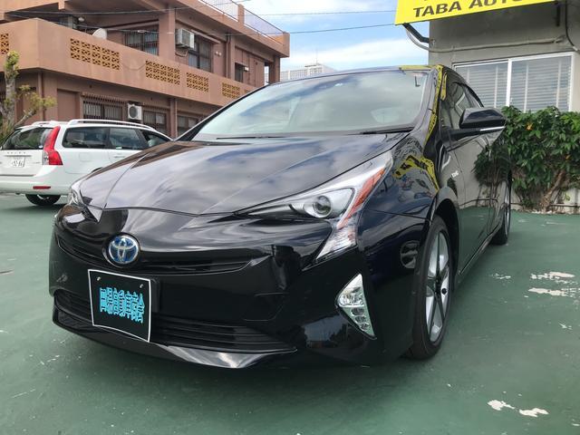 沖縄県の中古車ならプリウス Sツーリングセレクション TV ナビ CD スマートキー
