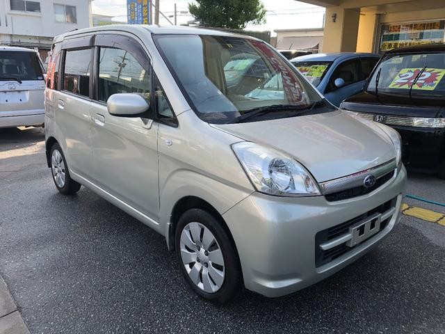 沖縄の中古車 スバル ステラ 車両価格 27万円 リ済込 平成19年 11.7万km ゴールドM