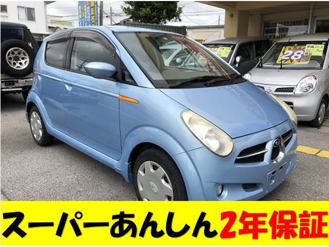 沖縄の中古車 スバル R2 車両価格 25万円 リ済込 2005(平成17)年 13.5万km ブルーM