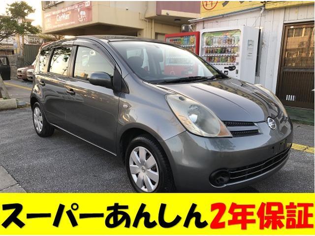 沖縄の中古車 日産 ノート 車両価格 31万円 リ済込 2006(平成18)年 8.5万km グレーM