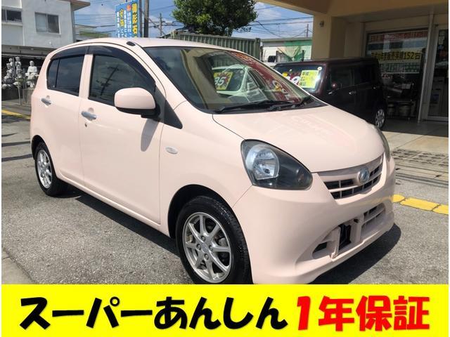 沖縄の中古車 ダイハツ ミライース 車両価格 39万円 リ済込 2012(平成24)年 9.4万km ピンク
