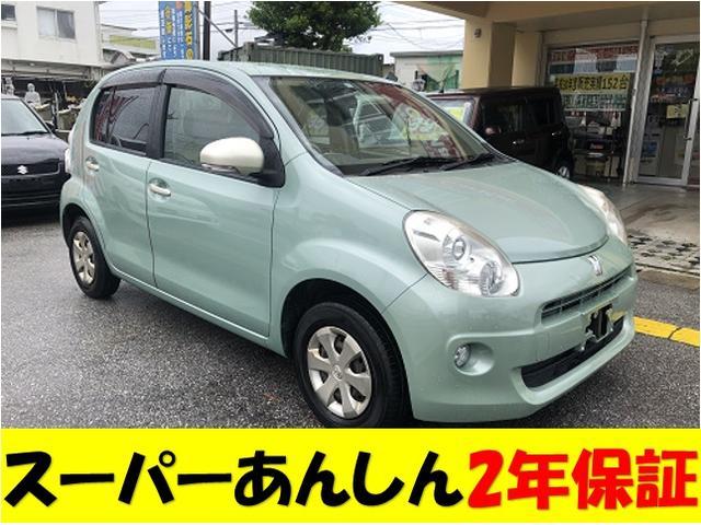 沖縄の中古車 トヨタ パッソ 車両価格 39万円 リ済込 2010(平成22)年 14.6万km ブルーM
