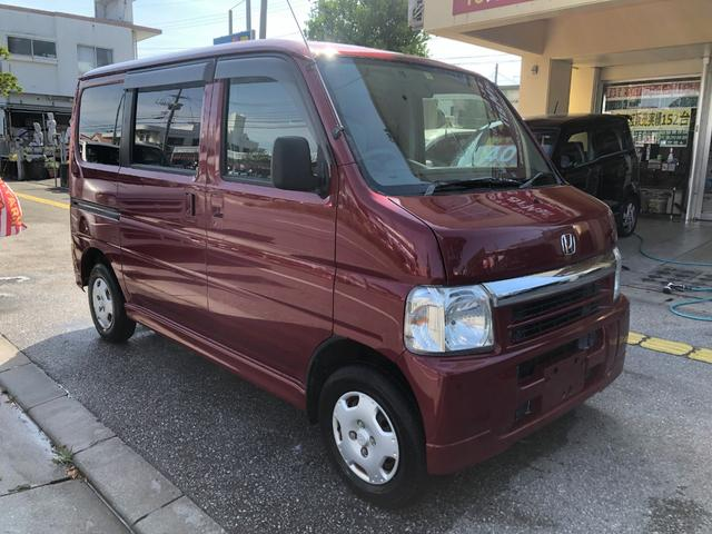 沖縄県の中古車ならバモス M 2年保証 タイヤ4本新品