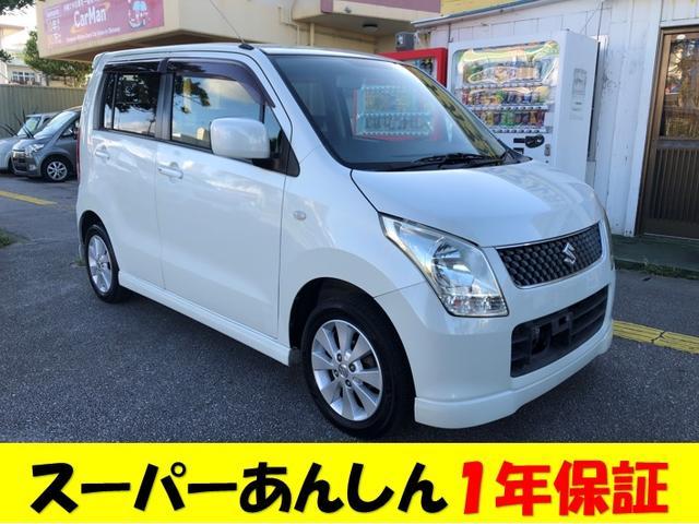 沖縄の中古車 スズキ ワゴンR 車両価格 30万円 リ済込 2008(平成20)年 9.8万km パールホワイト