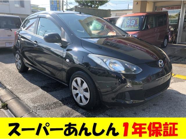 沖縄の中古車 マツダ デミオ 車両価格 35万円 リ済込 2008(平成20)年 11.5万km ブラックM
