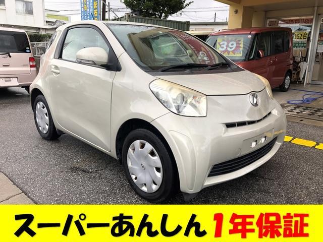 沖縄の中古車 トヨタ iQ 車両価格 39万円 リ済込 2008(平成20)年 9.9万km ゴールドM