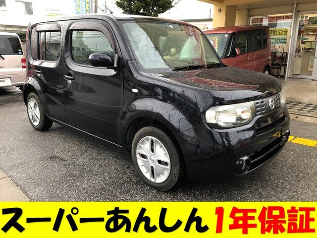 沖縄の中古車 日産 キューブ 車両価格 51万円 リ済込 2010(平成22)年 11.4万km DブラックM