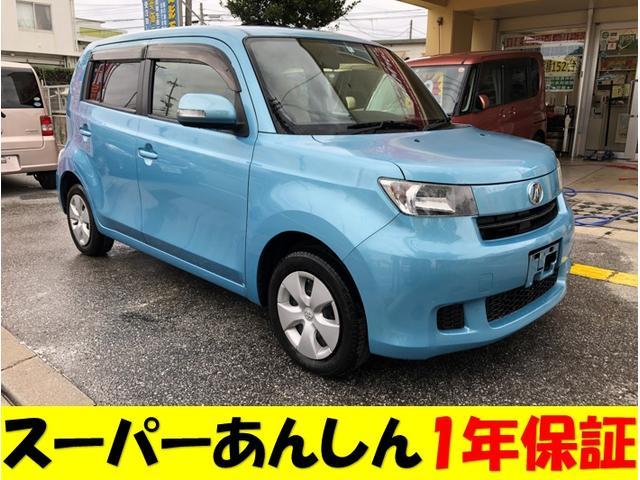 沖縄の中古車 トヨタ bB 車両価格 45万円 リ済込 2010(平成22)年 7.2万km ブルーM