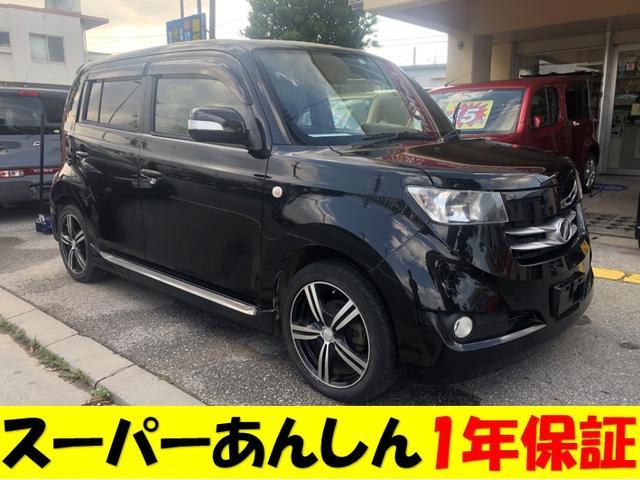 沖縄の中古車 トヨタ bB 車両価格 40万円 リ済込 2006(平成18)年 14.3万km ブラックM