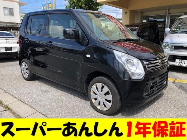 沖縄県の中古車ならワゴンR FX 基本パック1年保証 HDDナビ アイドリングストップ搭載車