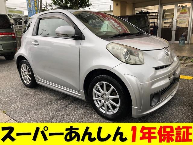 沖縄の中古車 トヨタ iQ 車両価格 60万円 リ済込 2009(平成21)年 9.3万km シルバーM