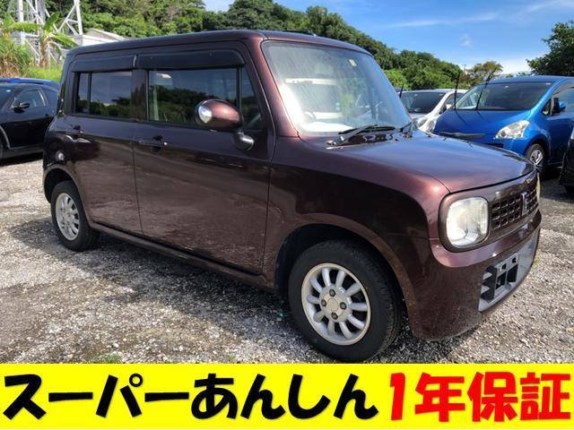 沖縄の中古車 スズキ アルトラパン 車両価格 45万円 リ済込 2009(平成21)年 11.6万km ブラウンM