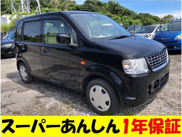 沖縄の中古車 三菱 eKワゴン 車両価格 40万円 リ済込 2011(平成23)年 11.2万km ブラック