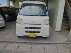 沖縄の中古車 ダイハツ ハイゼットカーゴ 車両価格 12万円 リ済込 平成18年 19.1万K ホワイト