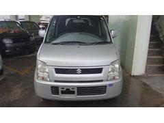 沖縄の中古車 スズキ ワゴンR 車両価格 14万円 リ済込 平成17年 7.4万K ライトシルバー