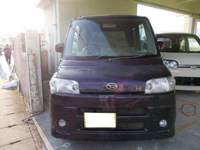 沖縄県の中古車ならタント L 下取車買取保証2万円