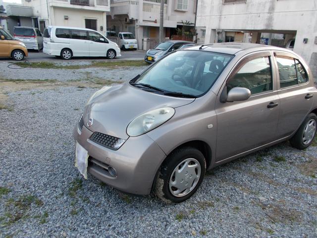 沖縄県の中古車ならマーチ 12B 1月契約下取車買取保証3万円