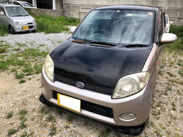 沖縄の中古車 ダイハツ MAX 車両価格 6万円 リ済込 2002(平成14)年 12.5万km ライトシルバー