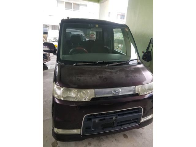沖縄県の中古車ならタント カスタムX 下取車買取保証3万円