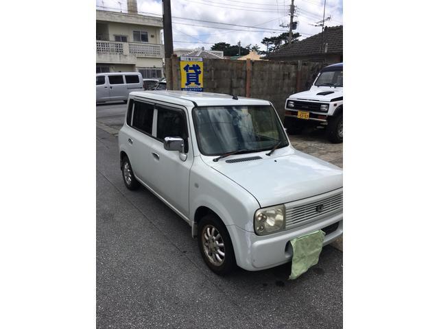 沖縄の中古車 スズキ アルトラパン 車両価格 11万円 リ済込 2003(平成15)年 13.0万km ホワイト