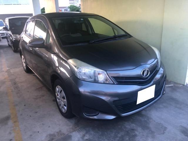 沖縄県の中古車ならヴィッツ F 下取車買取保証3万円