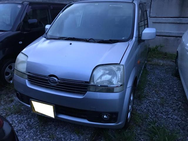 沖縄の中古車 ダイハツ ムーヴ 車両価格 6万円 リ済込 2004(平成16)年 16.0万km シルバー