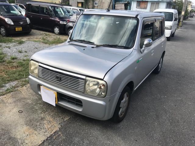 沖縄の中古車 スズキ アルトラパン 車両価格 9万円 リ済込 2003(平成15)年 16.0万km シルバー