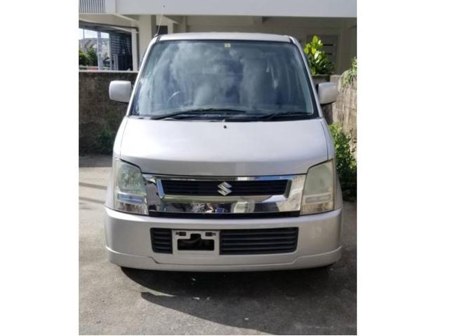 沖縄の中古車 スズキ ワゴンR 車両価格 9万円 リ済込 2004(平成16)年 11.3万km ライトシルバー