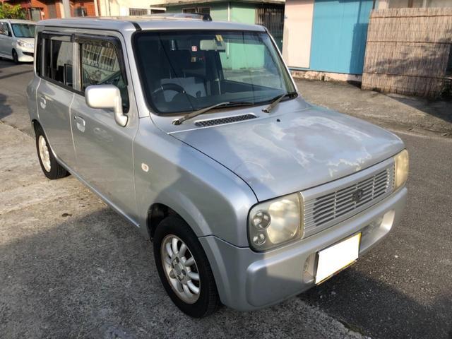 沖縄県の中古車ならアルトラパン G バッテリー新品、エンジンオイル、フィルター交換