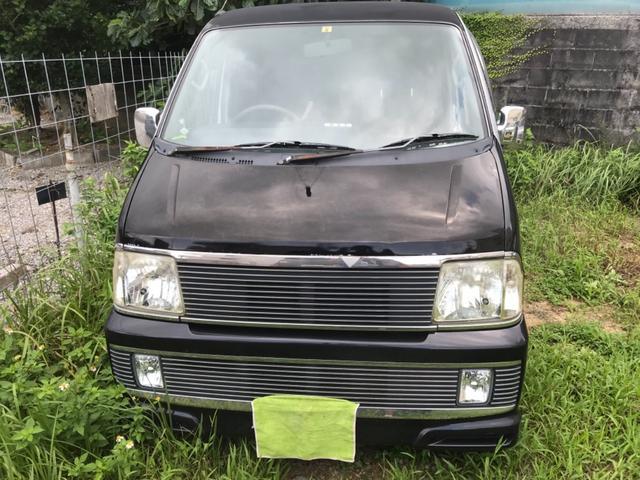 沖縄の中古車 ダイハツ アトレーワゴン 車両価格 9万円 リ済込 2000(平成12)年 18.0万km シルバー