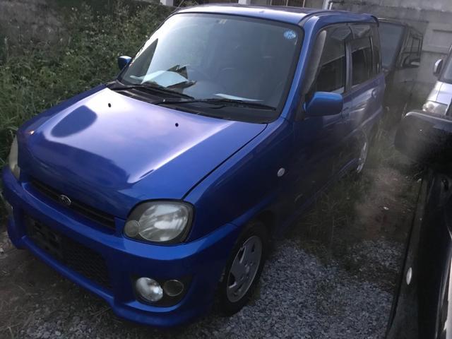 沖縄の中古車 スバル プレオ 車両価格 5万円 リ済込 2003(平成15)年 16.0万km ブルー