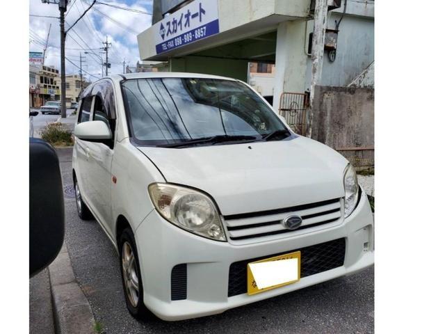 沖縄の中古車 ダイハツ MAX 車両価格 8万円 リ済込 2004(平成16)年 10.7万km ホワイト