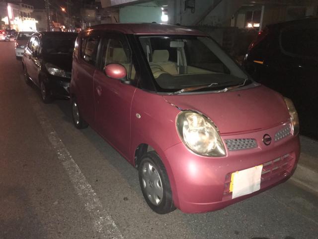 沖縄の中古車 日産 モコ 車両価格 6万円 リ済込 2006(平成18)年 11.6万km レッドII
