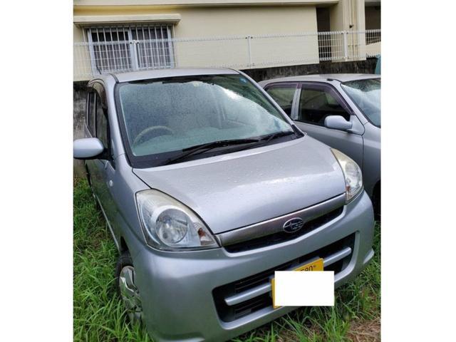 沖縄の中古車 スバル ステラ 車両価格 6万円 リ済込 2007(平成19)年 9.5万km シルバー