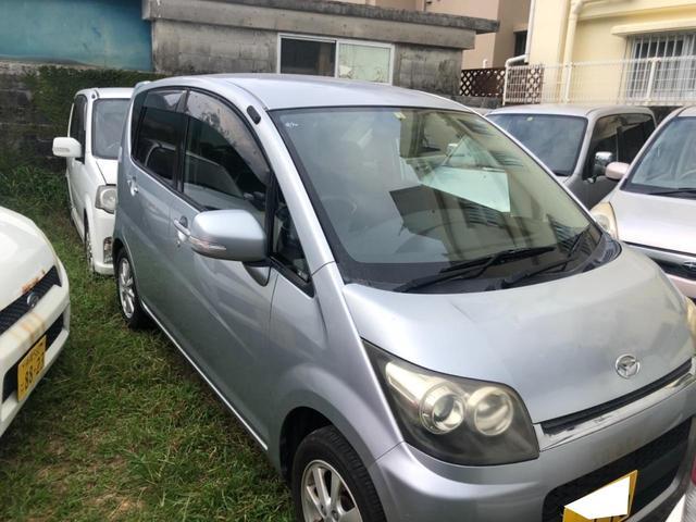 沖縄県の中古車ならムーヴ カスタム X 下取車買取保証3万円
